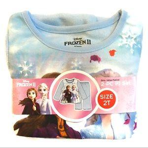 Girls 2T Frozen PJs